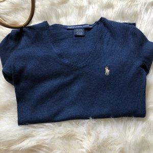 💙Ralph Lauren Sport V Neck Sweater💙